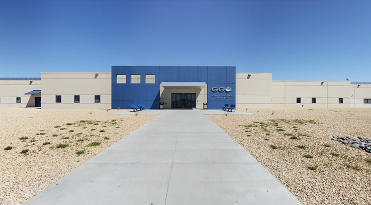 The Adelanto Detention Facility is owned by the for-profit GEO Group, which also pays contract fees to the city of Adelanto for every immigrant detained there.