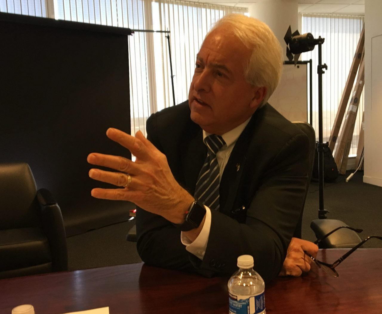 Republican gubernatorial candidate John Cox, photo by Judy Lin for CALmatters