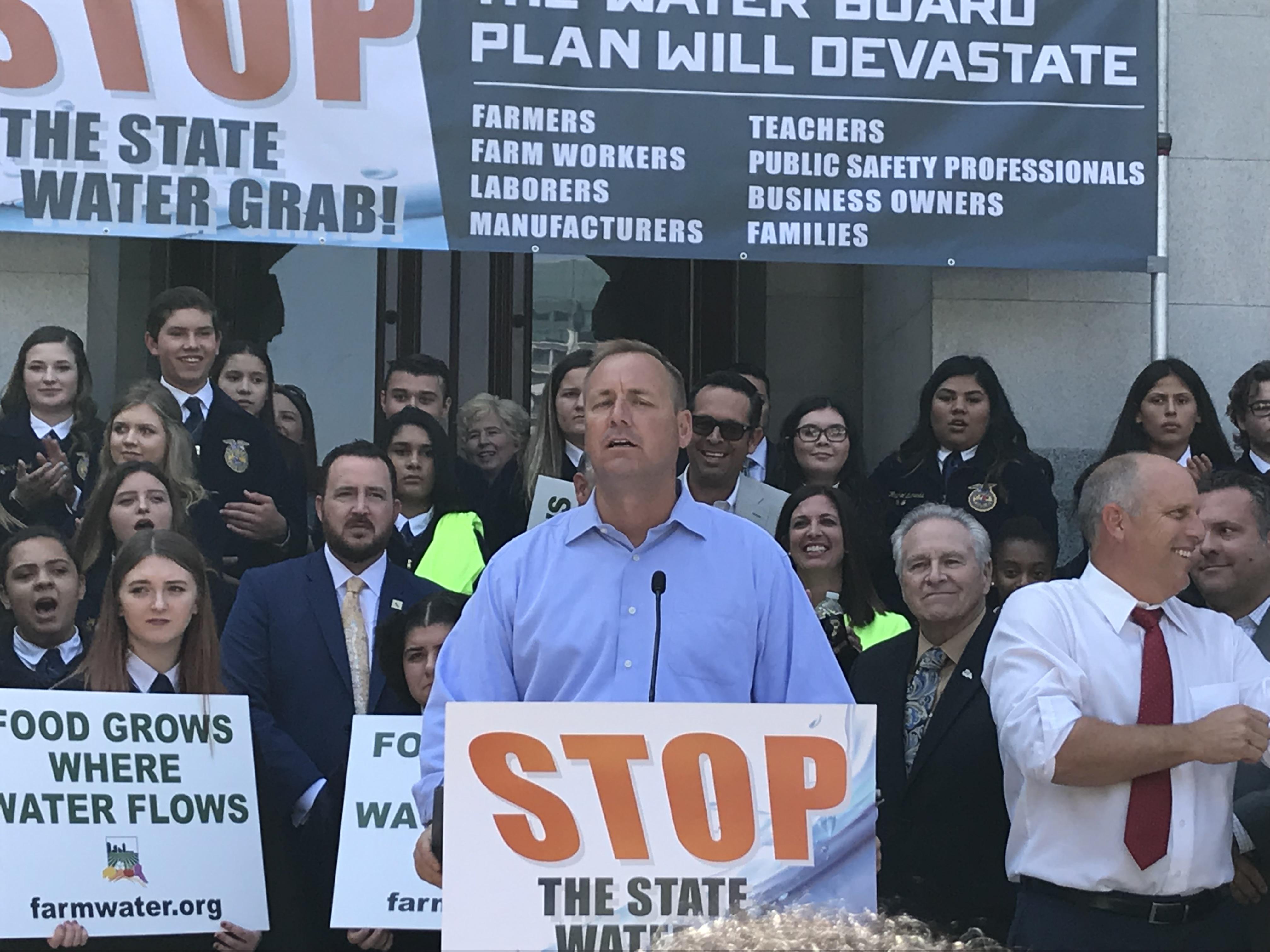 Incumbent Republican Jeff Denham lost to Democrat Josh Harder in California's Congressional District 10.