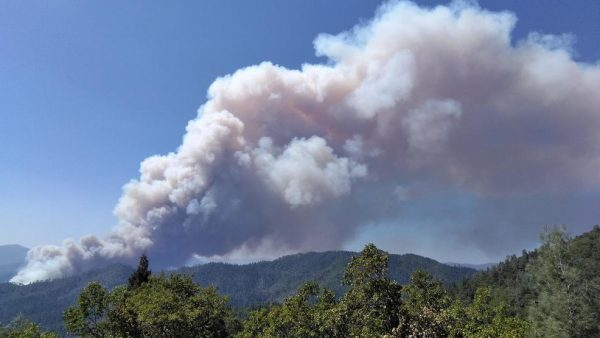 Delta Fire, Sept. 5, 2018. Photo by U.S. Forest Service