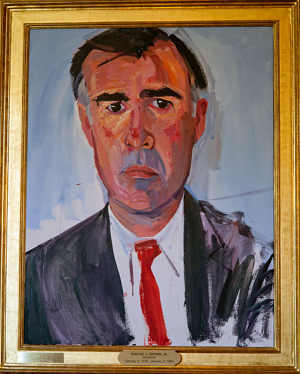 Portrait of Jerry Brown