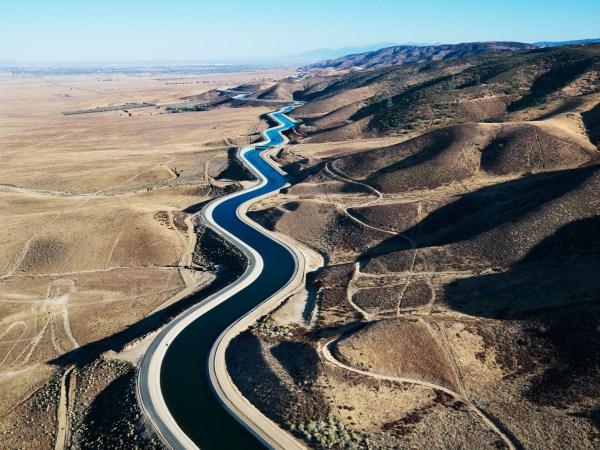 A portion of the California Aqueduct. Photo by iofoto, istock.com
