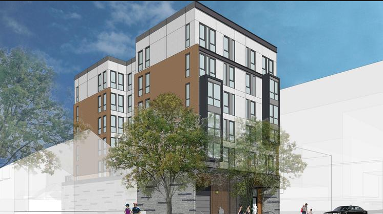 Proposed Habitat for Humanity affordable housing project in Redwood City.