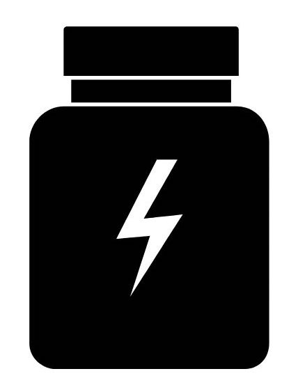 an icon of a pill bottle