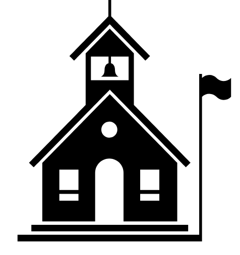 illustration of a schoolhouse