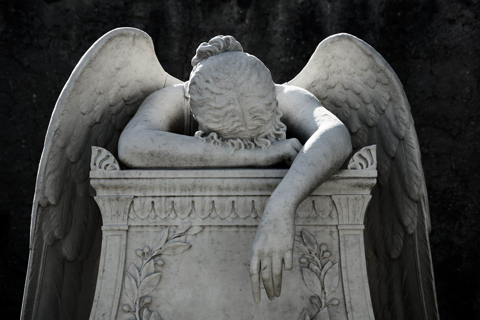 image of the angel of pain