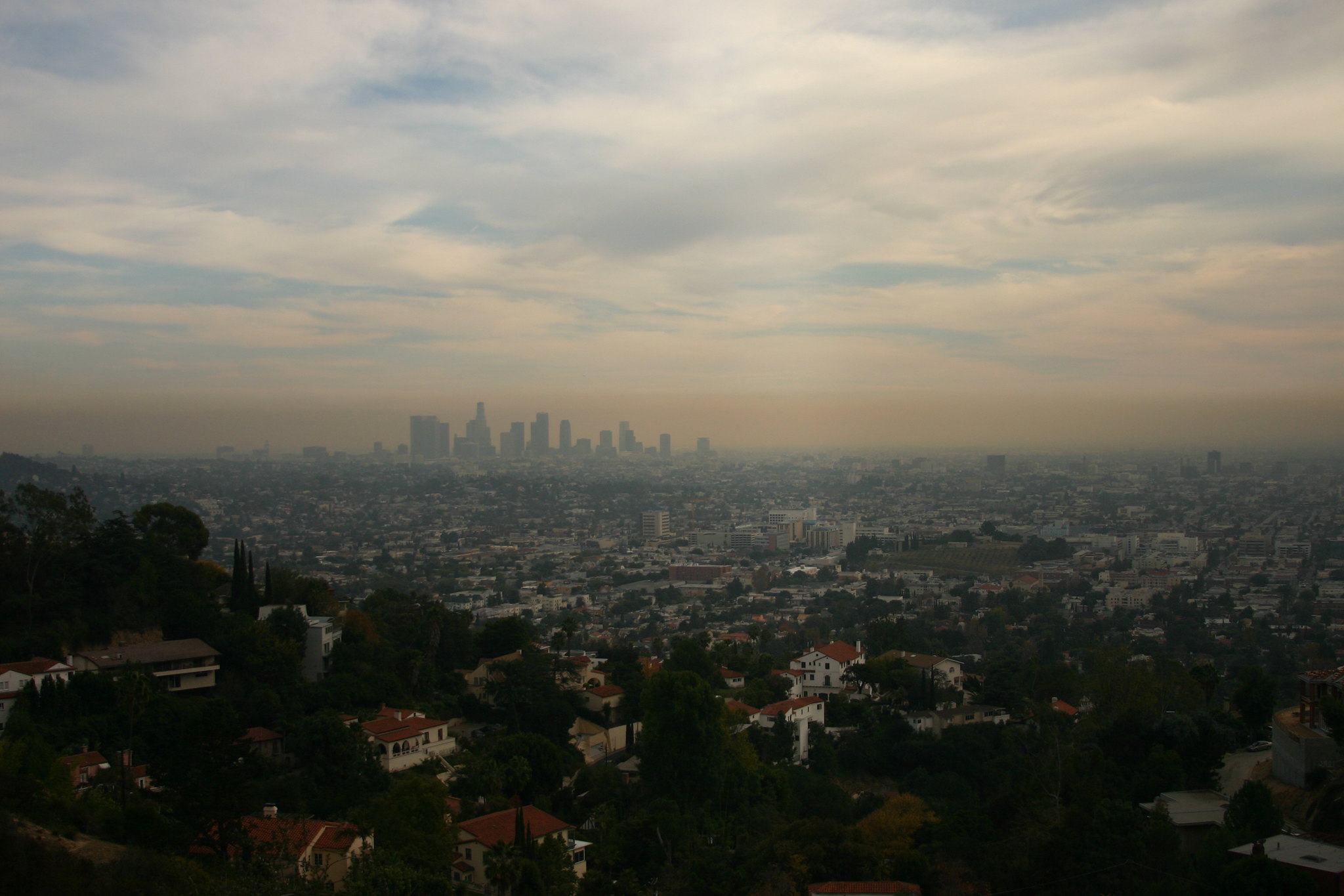 Smog over Los Angeles | Photo by Steven Buss via Flickr
