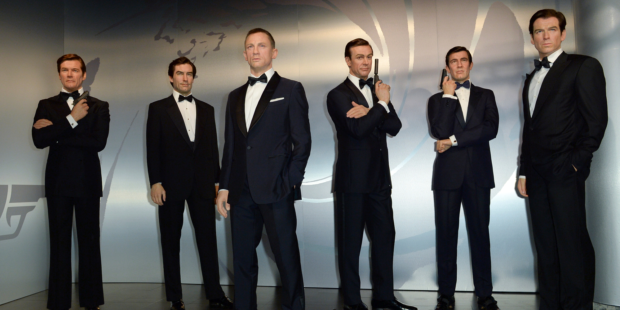 All the James Bonds are on display in Madame Tussaud's in Berlin, Germany — but our video will take the mystery out of the bonds on your California ballot. Photo by: Britta Pedersen/picture-alliance/dpa/AP Images