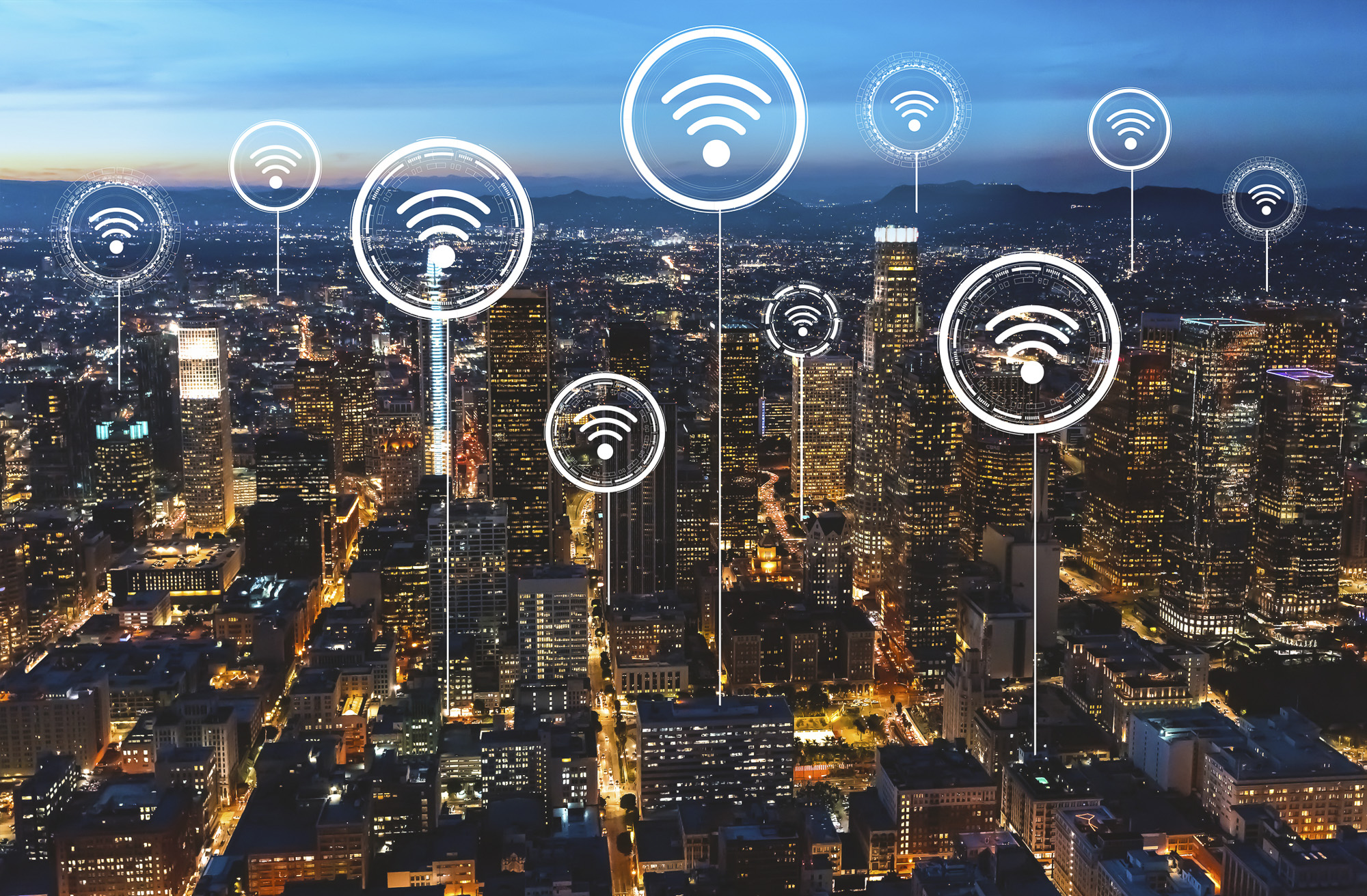 Google will be donating 100,000 wifi hotspots to help bridge California's digital divide during the coronavirus crisis. Is there a downside? Image via iStock