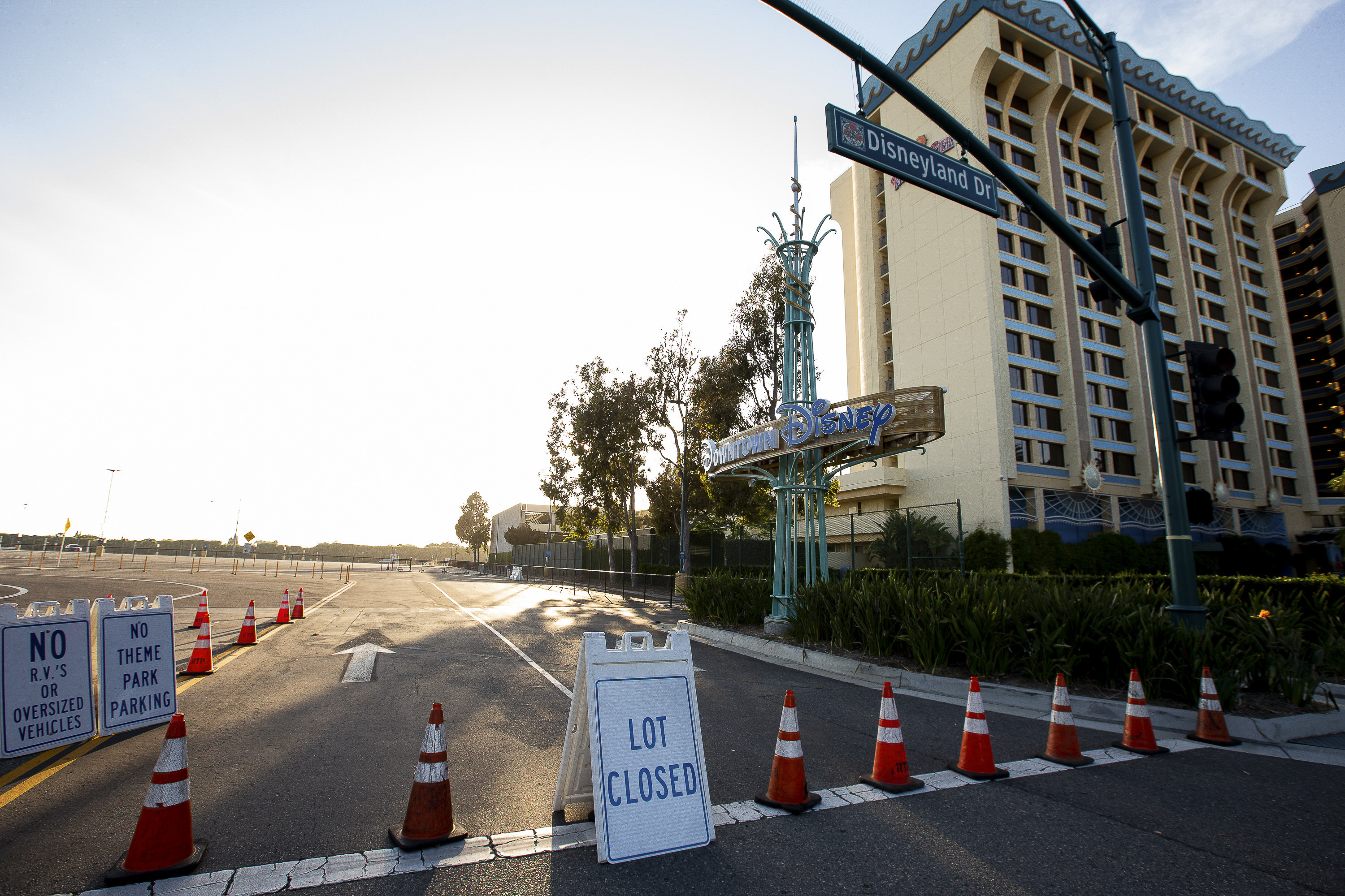Disneyland remains closed due to COVID-19, May 8, 2020. Photos by Lisa Hornak for CalMatters.