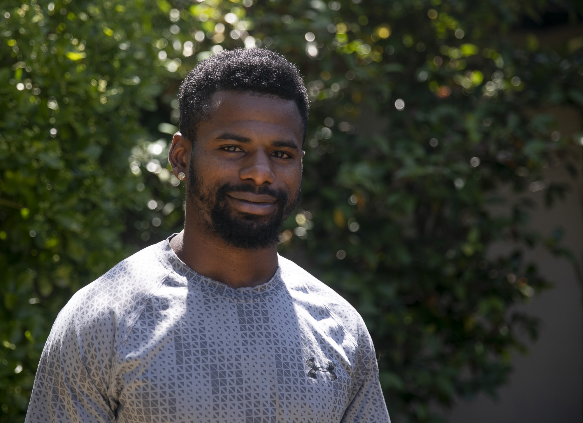 """Antonio Wellington was a ward at Pine Grove Fire Camp from 2015-17 and still serves as a mentor for current inmates. """"It's everything to me,"""" Wellington said of his experience at the camp. Photo by Anne Wernikoff for CalMatters"""